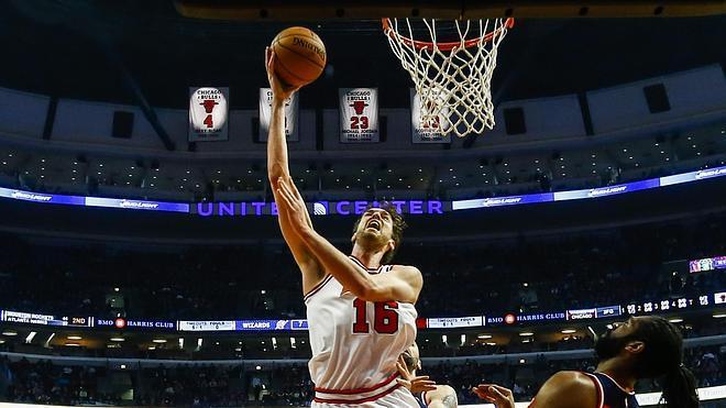 Pau Gasol y Mirotic salvan a los Bulls