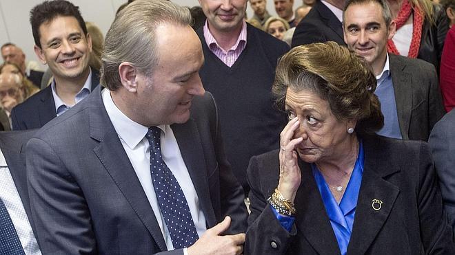 Alberto Fabra será el candidato a la Generalitat y Barberá opta a la reelección