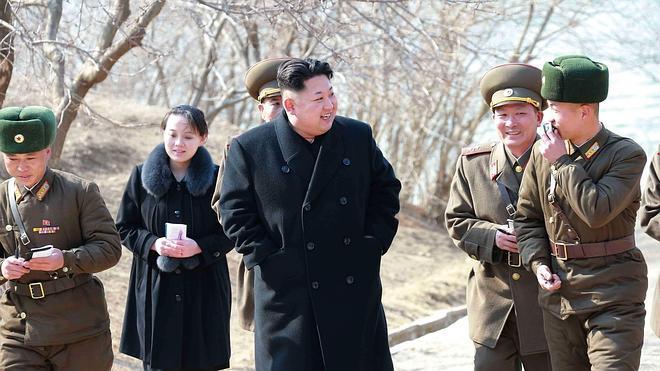 Corea del Norte lanza siete misiles al mar