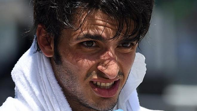 Sainz: «¡Salir desde la 15ª posición y llegar 8º es alucinante!»