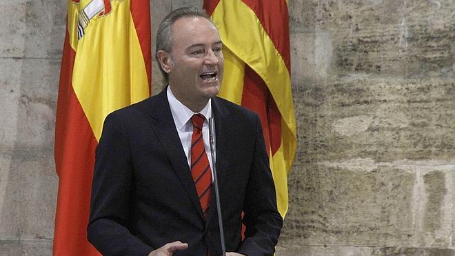 Alberto Fabra: «Los partidos tenemos que ser contundentes contra la corrupción»