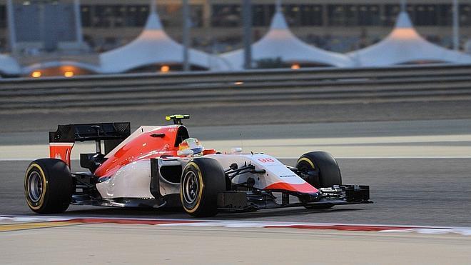 Merhi: «El neumático se consume mucho sin forzarlo»