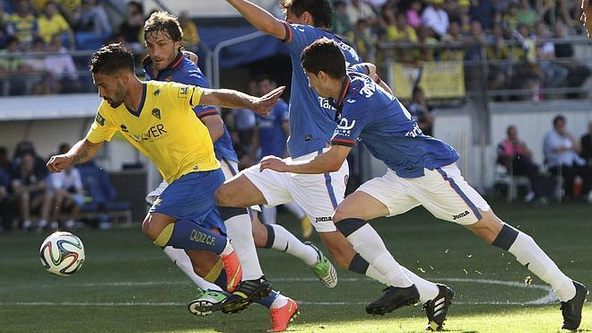 Hércules-Cádiz, eliminatoria estrella de ascenso a Segunda A