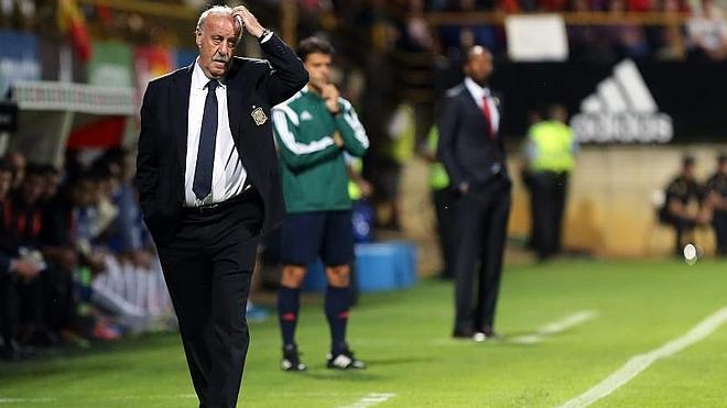 Del Bosque: «Cuando se pita a un jugador se pita a toda la selección; así lo siente el grupo»