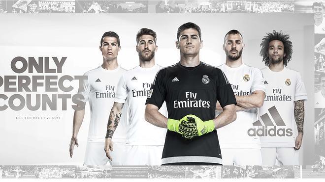 Casillas, figura central en la presentación de la nueva camiseta del Real Madrid