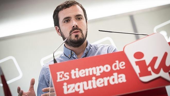 Garzón avisa a Iglesias que se enfrentarán en las elecciones si no hay candidatura conjunta
