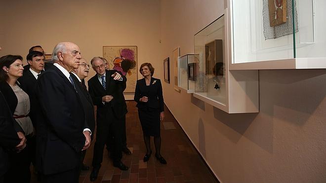 Una exposición muestra el viaje de Miró hacia la tercera dimensión en Barcelona