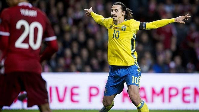 Suecia y Ucrania se clasifican para la Eurocopa 2016