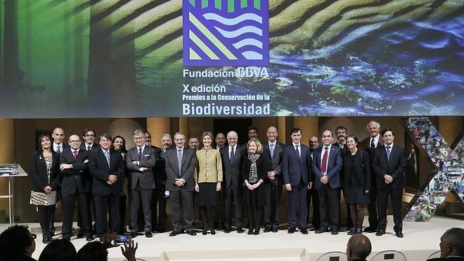 La Fundación BBVA premia a los guardianes de la naturaleza