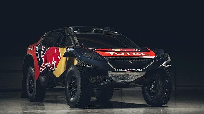 El Peugeot 2008 DKR16, listo para el Dakar