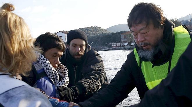 Ai Weiwei se retira de Dinamarca en solidaridad con los refugiados