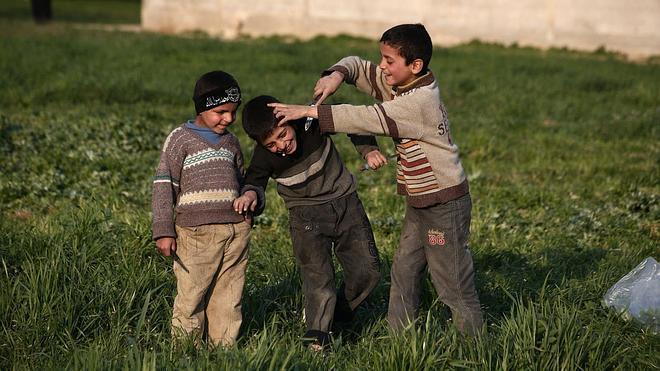 Unicef denuncia que uno de cada tres niños sirios solo ha conocido la guerra