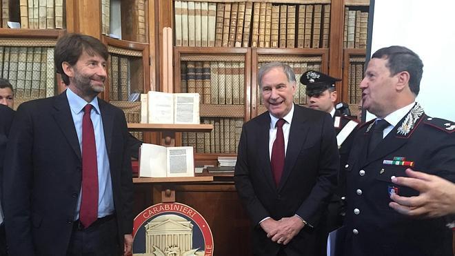 Italia recupera una valiosa carta en la que Colón relata el descubrimiento del 'Nuevo Mundo'