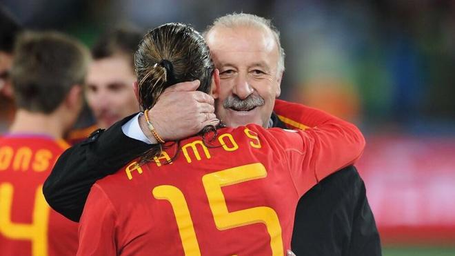 Ramos agradece a Del Bosque su «legado eterno»