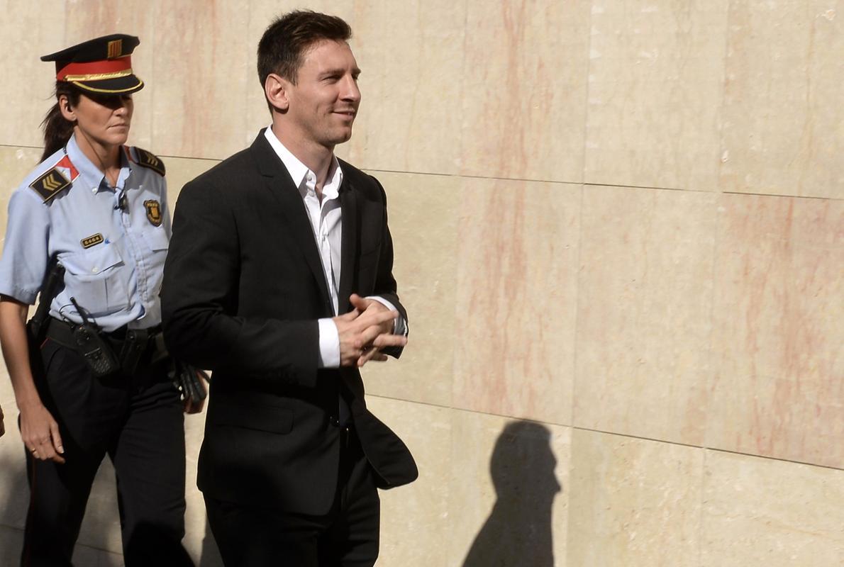Messi, condenado a 21 meses de prisión por delito fiscal