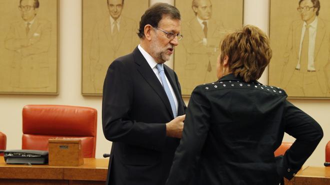 Rajoy deja a Celia Villalobos fuera de la Mesa del Congreso después de 13 años