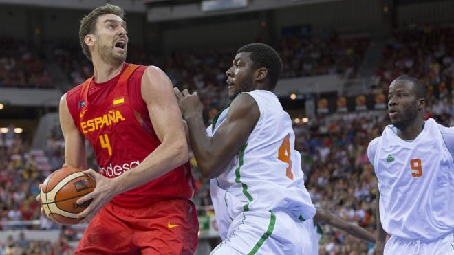 España cierra su preparación para Río con una contundente victoria