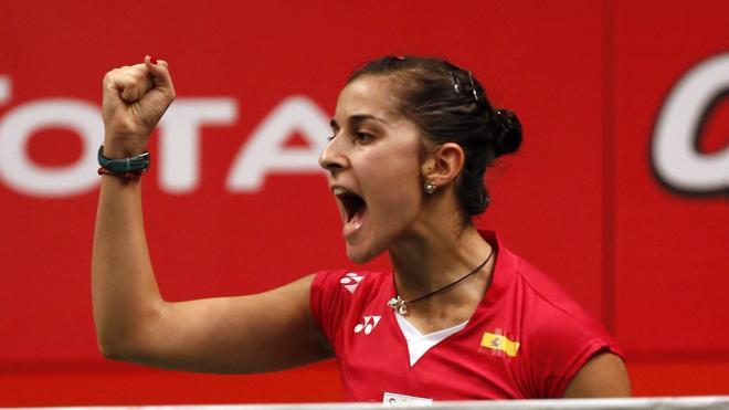 Carolina Marín irá a Río con la fórmula «calma, alegría y fuerza»