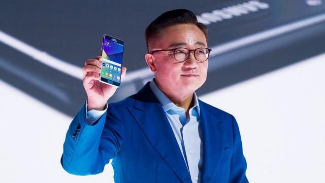 Samsung apuesta sobre seguro con el nuevo Note 7