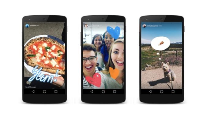 Instagram desafía a Snapchat con imágenes que desaparecen en 24 horas