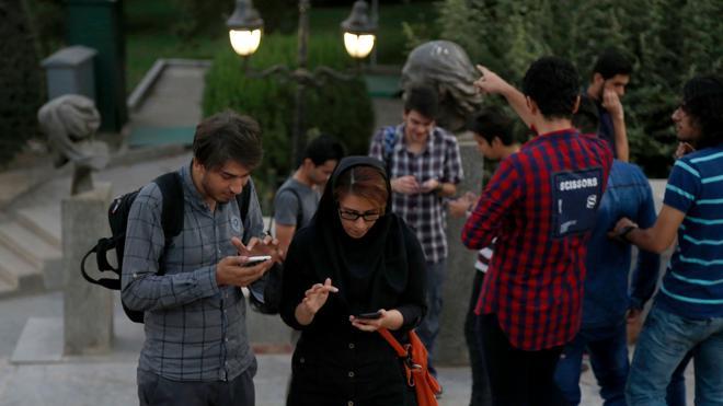 Los jóvenes iraníes sortean la censura para jugar a Pokémon Go