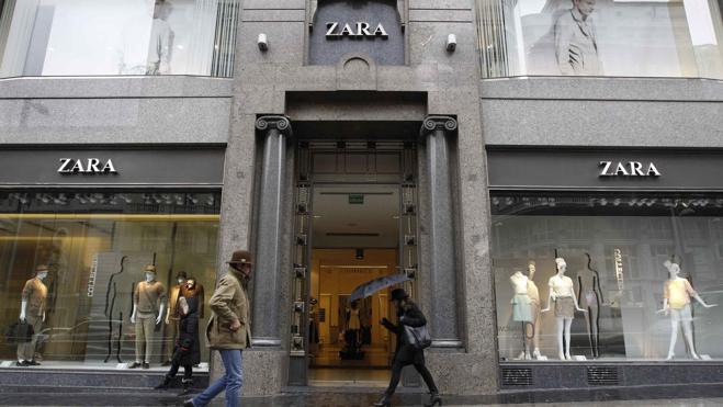 Las tiendas de Inditex inician el pago por móvil