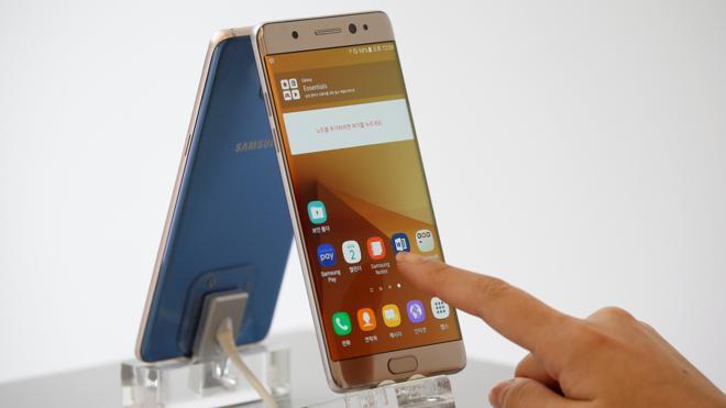 Samsung paraliza las ventas del Galaxy Note 7