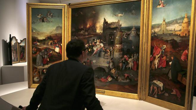 La exposición de 'El Bosco' se convierte en la más visitada en la historia del Prado