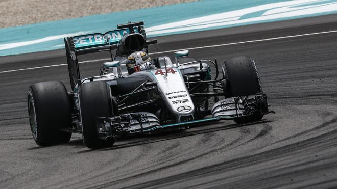 Hamilton, a lo Schumacher