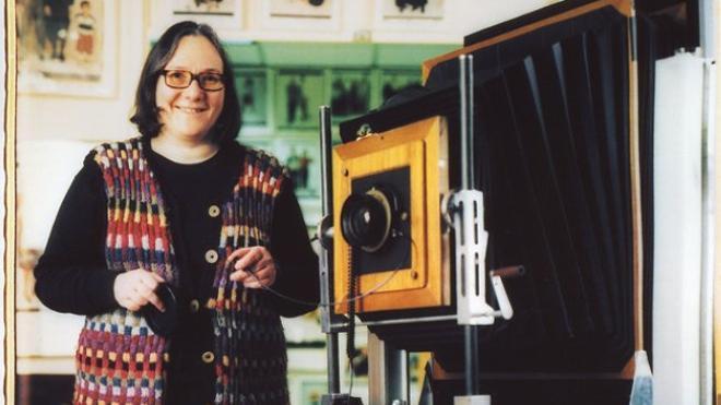 Elsa Dorfman y su 'polaroid' gigante