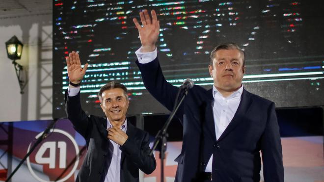 El partido en el poder en Georgia proclama su victoria en las legislativas