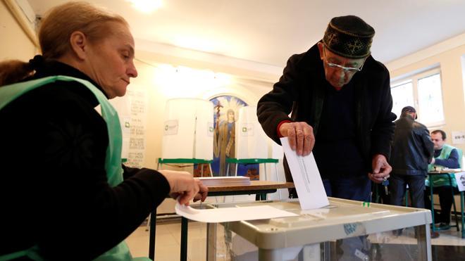 El partido de gobierno obtiene una aplastante mayoría en las elecciones en Georgia