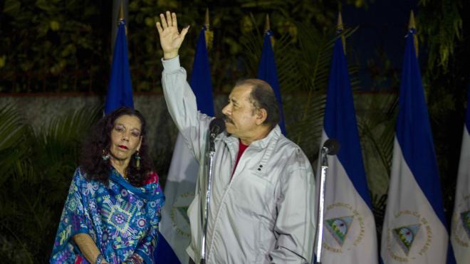 Daniel Ortega arrasa en las elecciones generales de Nicaragua con el 72,1% de los votos