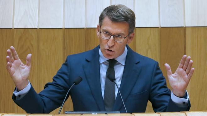 Feijóo, elegido presidente de la Xunta de Galicia por tercera vez