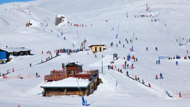 Un paraíso de la nieve para el Valle de Aragón