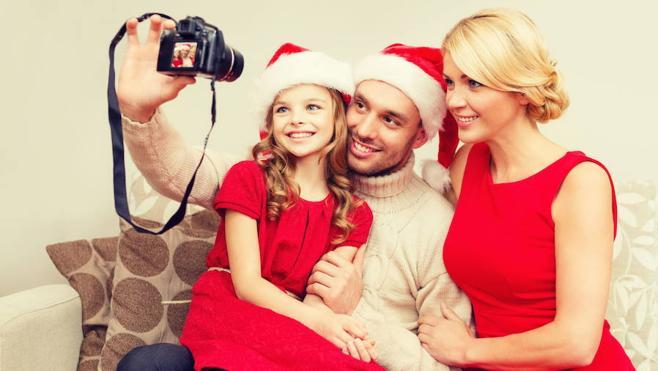 Cómo organizar una sesión de fotos con niños para felicitar la Navidad