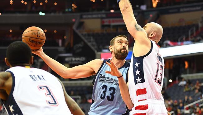 Un gran Marc Gasol no puede evitar la derrota de los Grizzlies