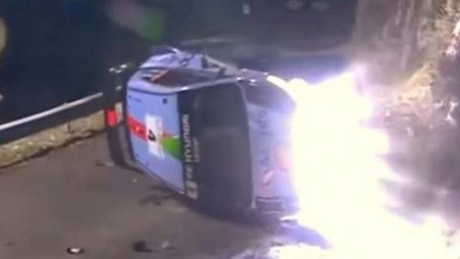 Muere un espectador español arrollado por un coche del Rally de Montecarlo