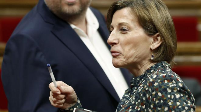 Forcadell afirma que España «vulnera» derechos humanos
