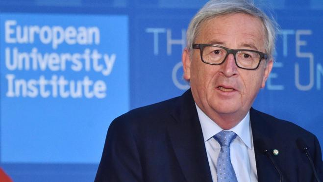 Juncker dice que el inglés «está perdiendo importancia» en Europa