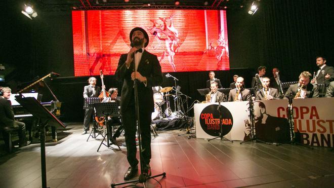 Javier Botella, crooner con 'Marca España'