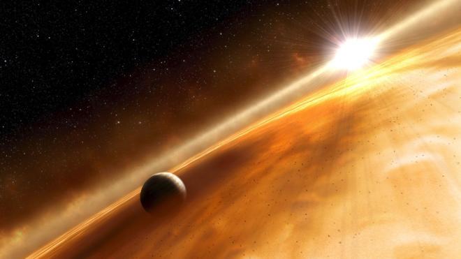 La nave Juno obtiene la primera imagen de los anillos de Júpiter desde dentro