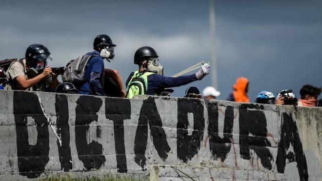 Muere un menor en Venezuela durante una protesta opositora