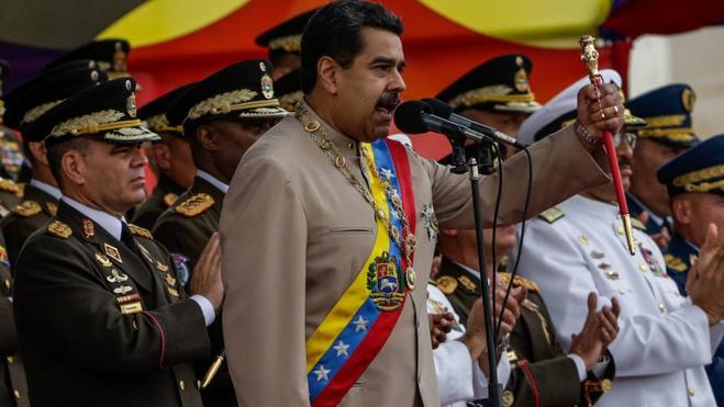 Maduro acusa a la oposición de planificar un golpe de Estado para el 24 de junio