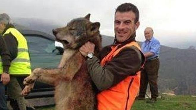 Una batida acaba con un lobo en Carranza tras dos meses de ataques al ganado