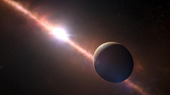 El día sólo dura 8 horas en el planeta Beta Pictoris B