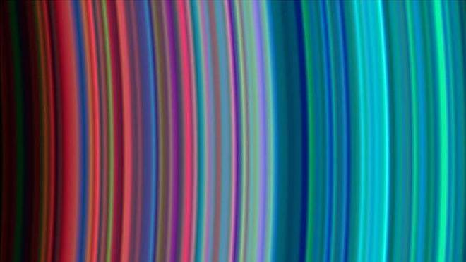El arcoíris de Saturno