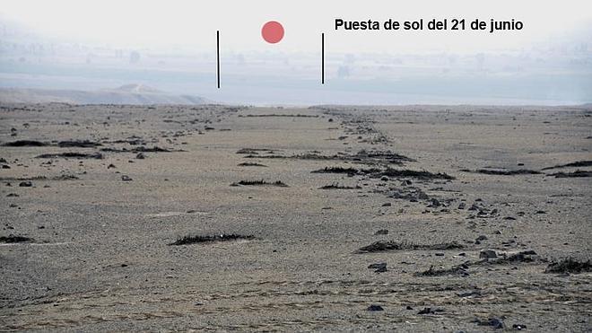 Descubren en Perú grandes líneas con fines astronómicos anteriores a las de Nazca