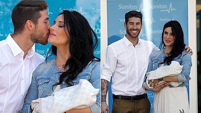 Pilar Rubio y Sergio Ramos presentan a su bebé