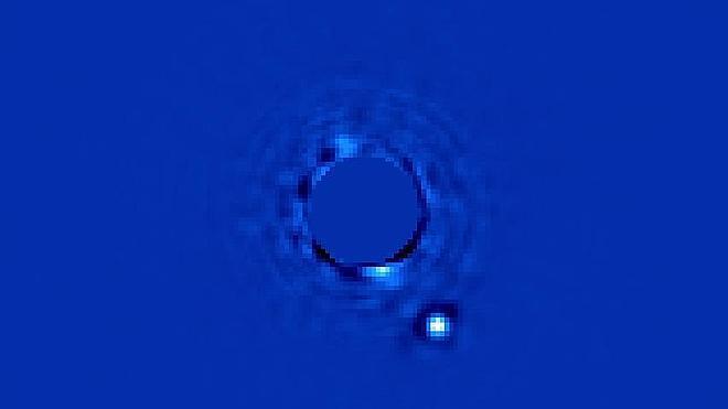 La mejor foto de un planeta de otro sistema solar
